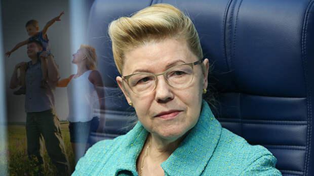 Елена Мизулина предложила презумпцию добросовестности семьи
