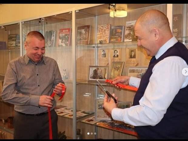 В Охотнинском проезде открылась музейная экспозиция к 80-летию Битвы за Москву