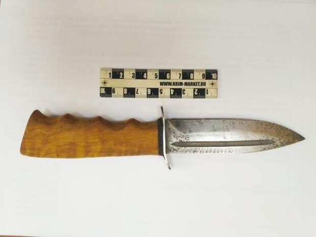 Мужчина с охотничьим ножом задержан в районе Лефортово