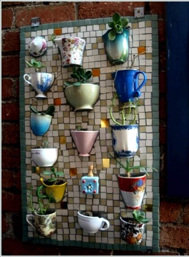 Декоративное мозаичное панно.   Фото: Homebnc.
