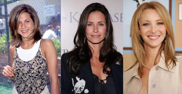 Моника, Рейчел иФиби сейчас: как изменились актрисы сериала «Друзья»