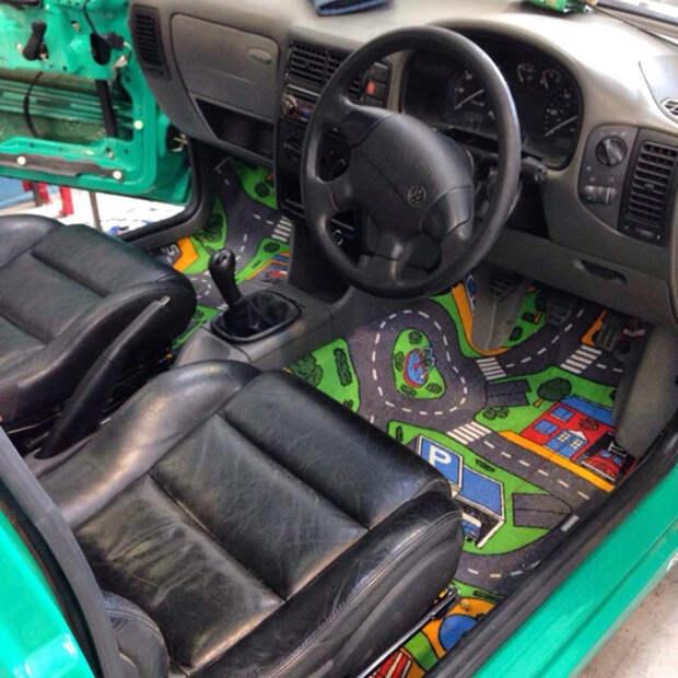 Лучший автомобильный коврик автоприкол, творчество, тюнинг