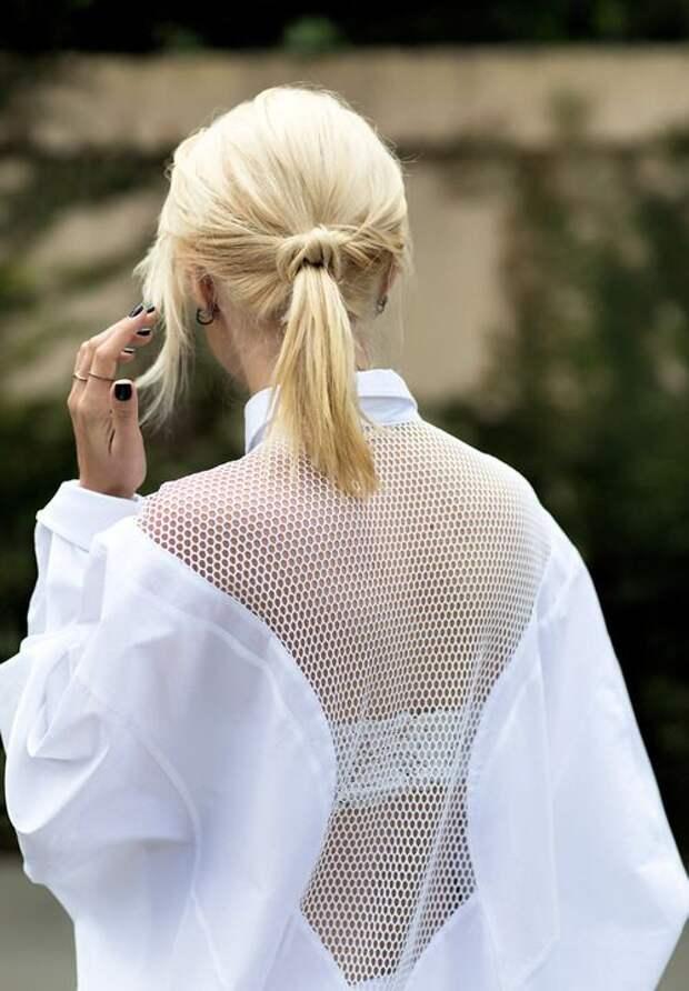 Переделка блузок