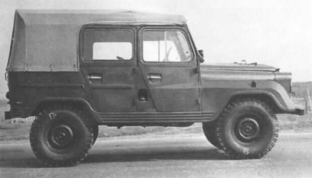 «Надежность опытных образцов низкая»: УАЗ-469 пробивает дорогу в серию
