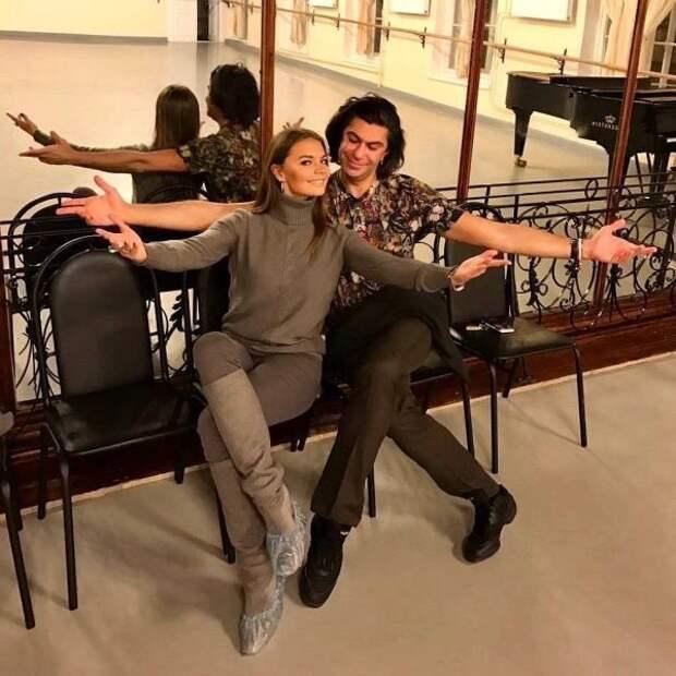 Николай Цискаридзе поздравил Алину Кабаеву с днём рождения
