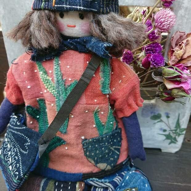 Одежда для куклы от японской рукодельницы