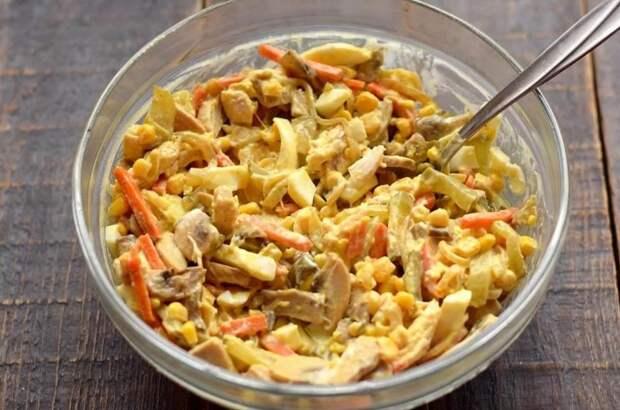 Салат с перчинкой «Добрая теща». Оригинальный салат от любимой тёщи