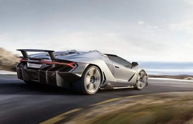 Lamborghini Centenario Roadster - лишь 20 экземпляров от € 2 млн.