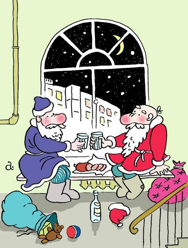 Новогоднее приключение Деда Мороза