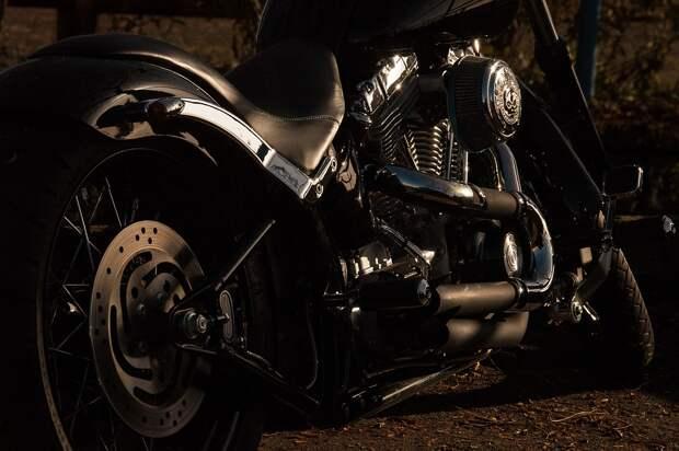 Мотоцикл, Харли Дэвидсон, Харли, Chrome, Измельчитель