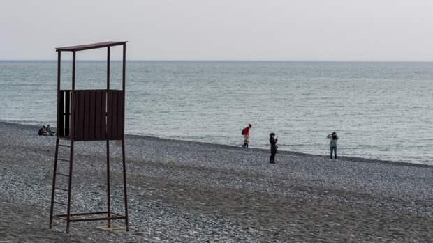 Российская туристка сравнила пляжи Сочи и Абхазии