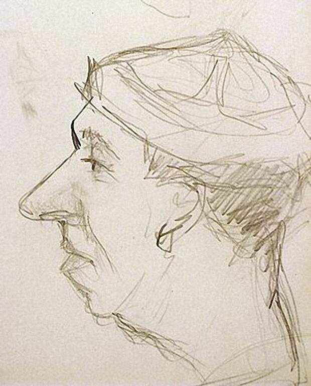 Георгий Вицин... Автопортрет