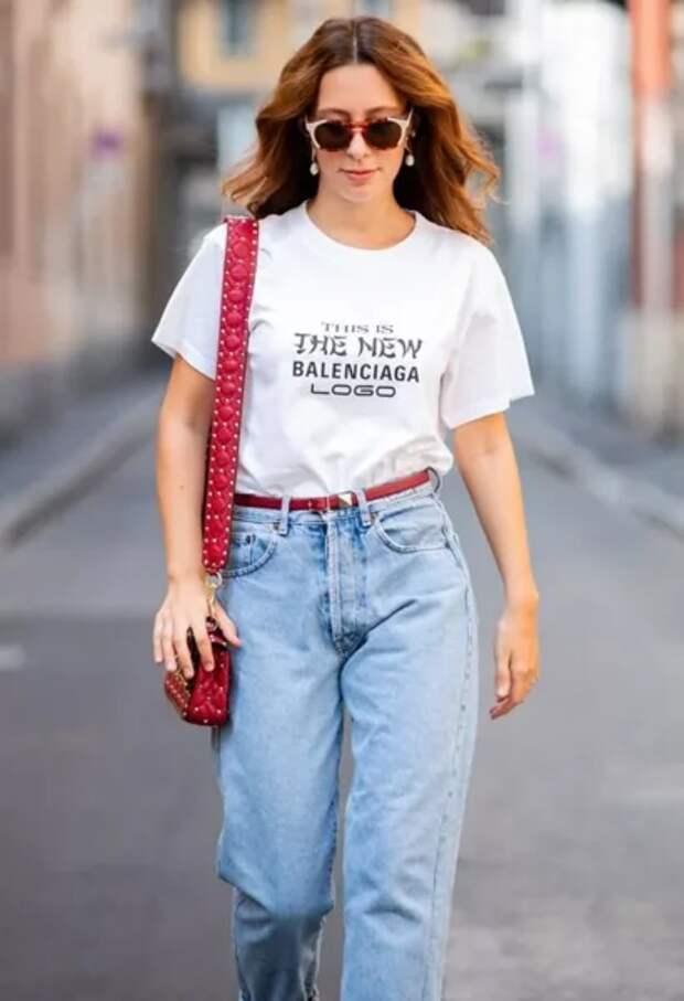 Как правильно заправить футболку, рубашку, свитер в высокую талию, чтобы это выглядело хорошо