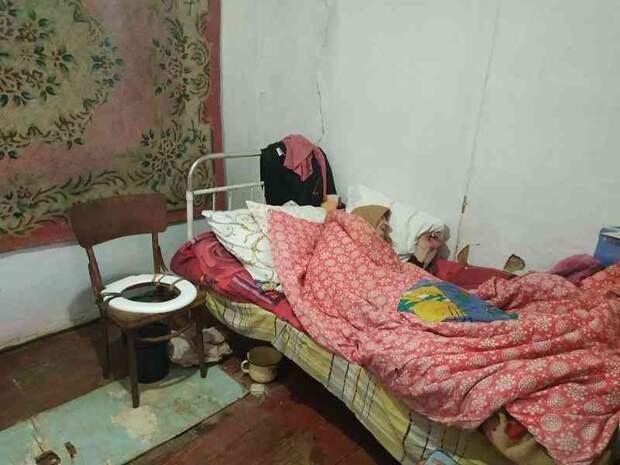 Брошенная родными участница боевых действий умерла в больнице Керчи