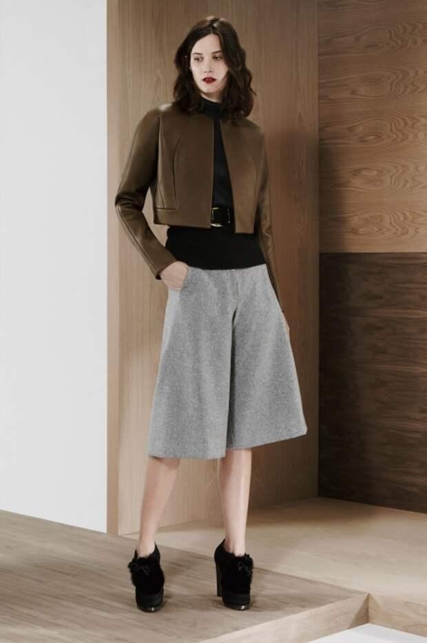 Юбка-брюки — модный тренд сезона осень 2014