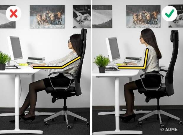 6 способов не навредить здоровью, сидя на рабочем месте