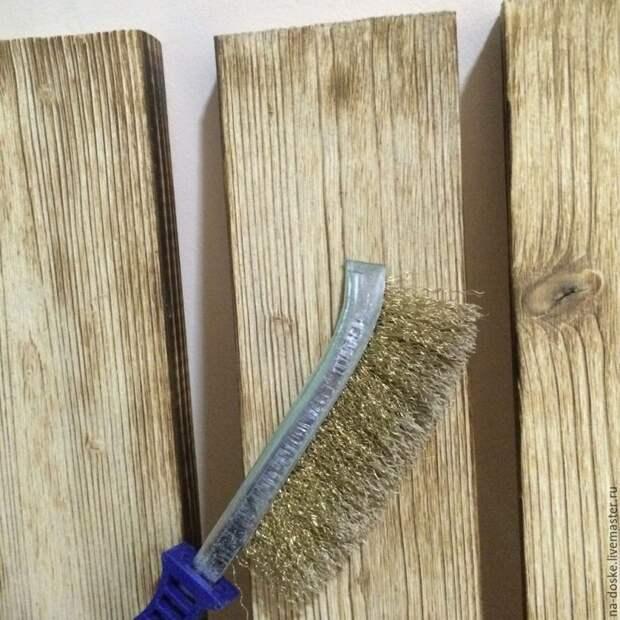 Простой способ состаривания дерева