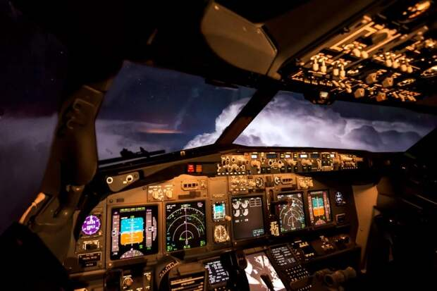 fromcockpit19 25 фотографий, сделанных пилотами из кабин самолетов