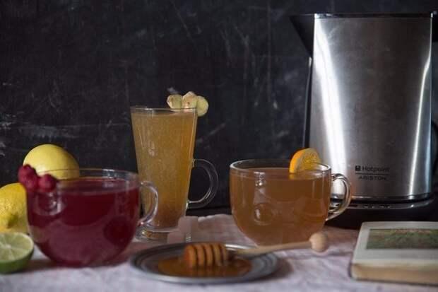 Три рецепта чая от простуды