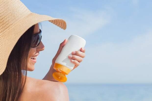 Ошибки при использовании солнцезащитного крема