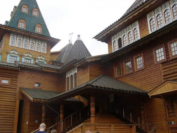 Прогулки по Коломенскому. Дворец Алексея Михайловича.