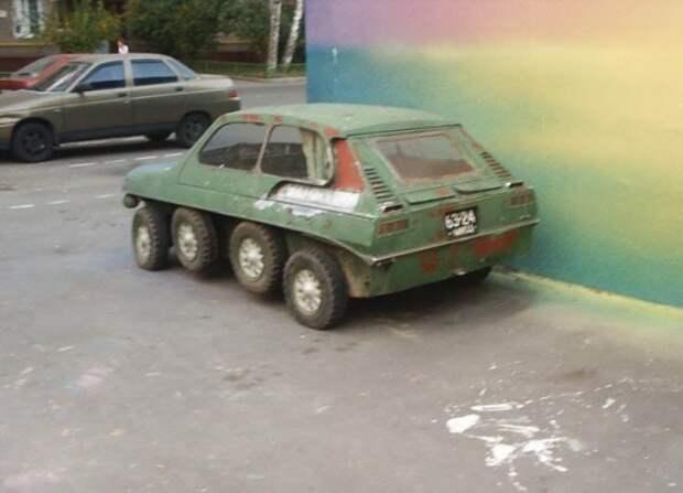 И на охоту и за грибами авто, прикол, юмор