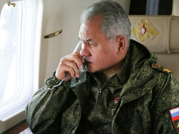 Шойгу рассказал о шагах России в ответ на действия НАТО
