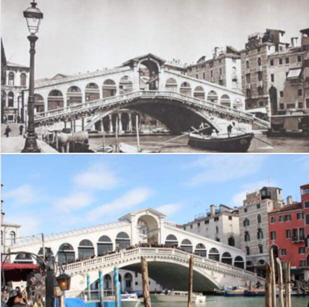 Турист показал изменения мира за 100 лет. Нашел старый фотоальбом и поехал по всем местам из фотографий