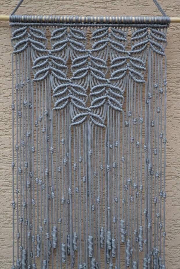 Узелковое плетение макраме: 28 идей для декора и не только