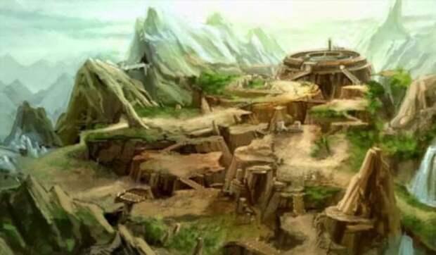 Затерянный континент Лемурия