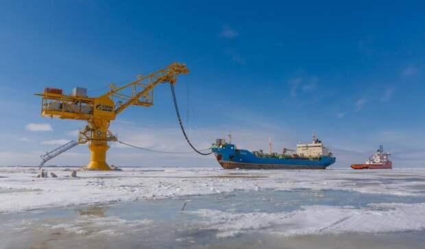 Первую арктическую нефть поставила «Газпром нефть» вКитай