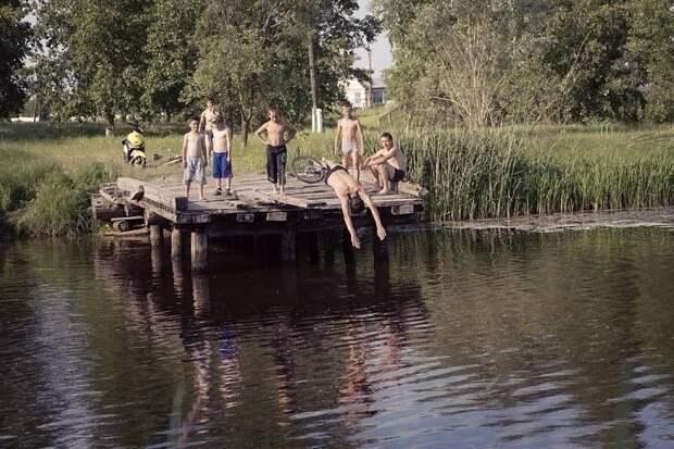 Как мы раньше проводили лето..