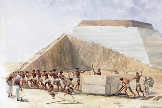 Физики раскрыли секрет транспортировки камней для египетских пирамид