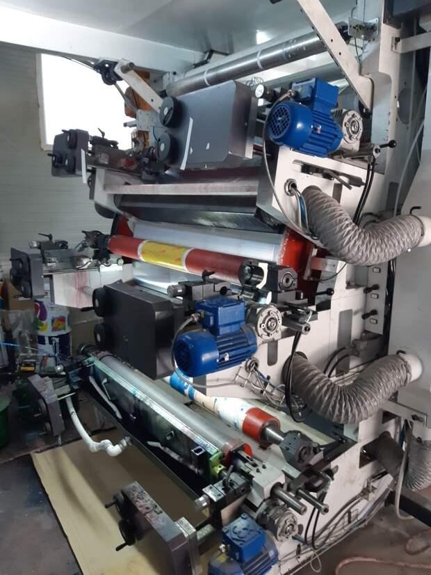 Флексографическая машина: история создания и основные преимущества