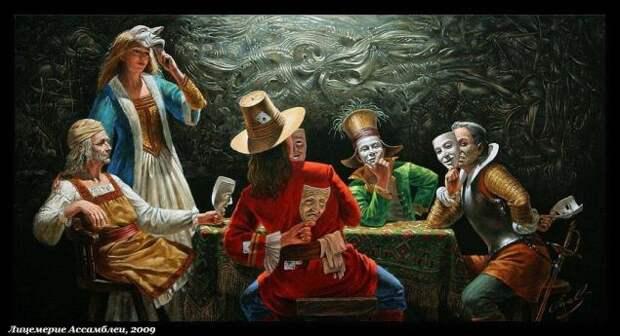 Потрясающие картины. Михаил Хохлачев