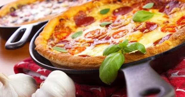 12 самых быстрых и вкусных рецептов пиццы