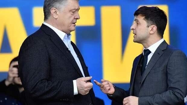 Зеленский и Порошенко поспорили, кто больше украл из бюджета