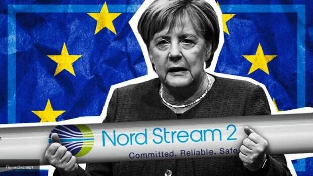 Меркель требует, чтобы «Северный поток-2» был достроен