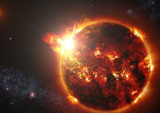 Астрофизики впервые «поймали» гигантскую звездную вспышку