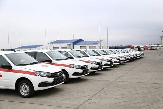 На Кубани для участковых врачей закупили 90 автомобилей