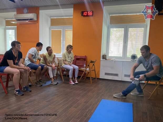 Обмен опытом: специалист Пожарно-спасательного центра Москвы провел занятие по оказанию первой помощи