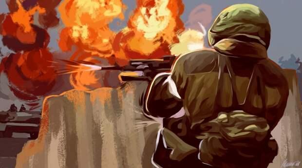 Появилось видео наступления ополчения Донбасса на ВСУ под Золотым