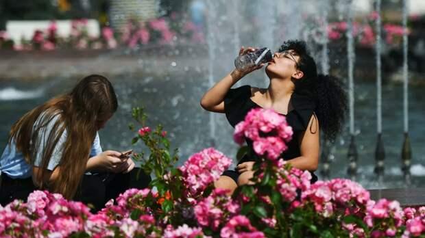 Синоптик сообщила о +31 °С в Москве 18 мая