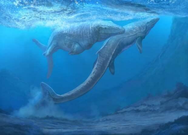 Водоплавающий тираннозавр или самый могущественный ящер моря