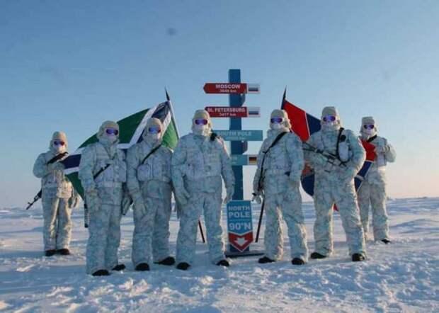 Американские морпехи высадились на Севере у российских границ