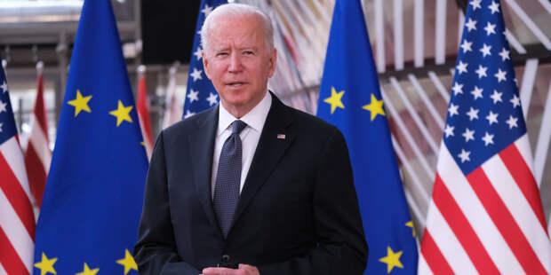 Президент США Джо Байден прилетел в Женеву