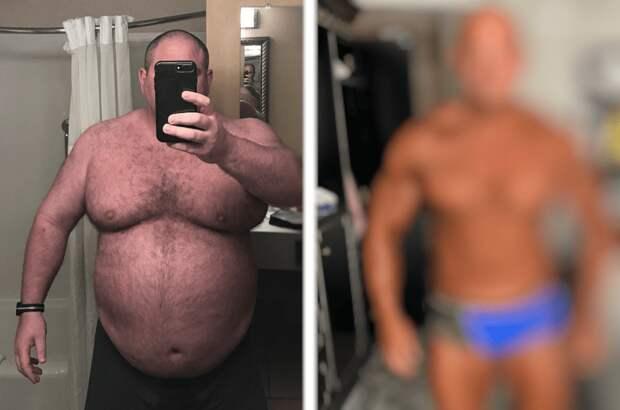 Кардинальная трансформация: Мужчина весом 174 кг похудел и изменился до неузнаваемости