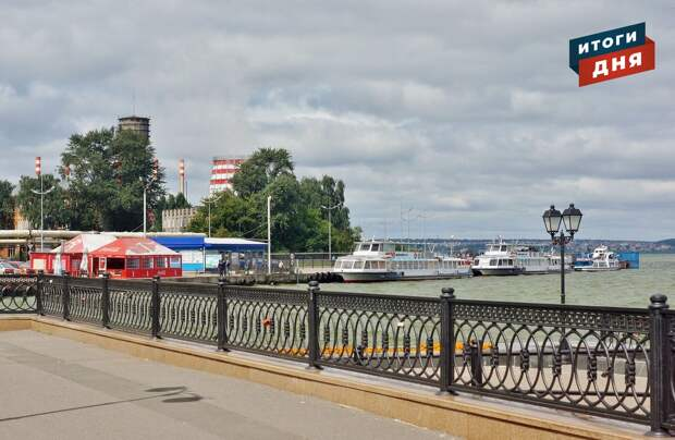 Итоги дня: сезон навигации теплоходов в Ижевске и дождливые выходные в Удмуртии