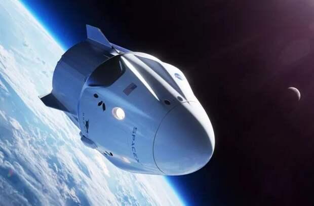 Пилотируемый корабль SpaceX стартовал к МКС