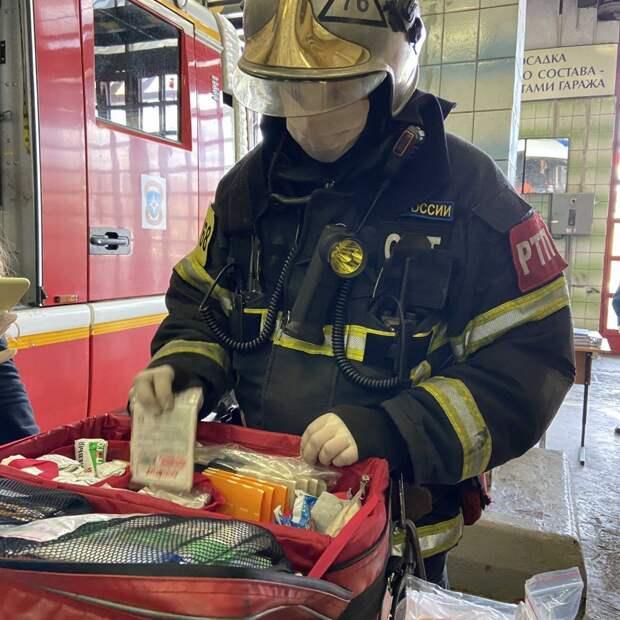 Онлайн-экскурсия по пожарной части состоялась в ЮВАО